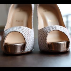 Christian Louboutin Perfect Wedding Shoes!